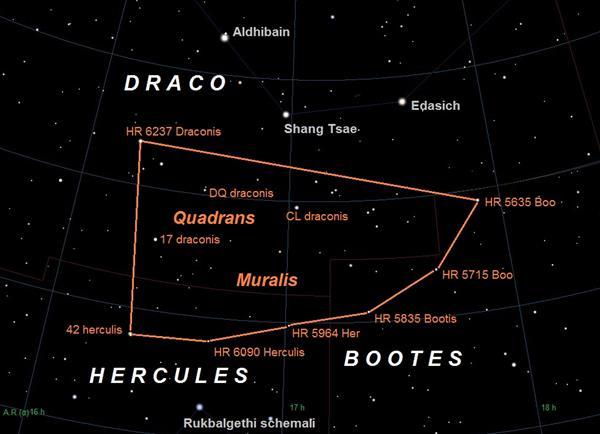 象限仪座流星雨要来啦!1月4日夜间到1月5日凌晨全国都能看到