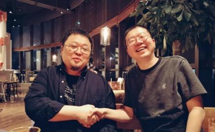 微博流传锤子创始人与李诞合照 引网友热议