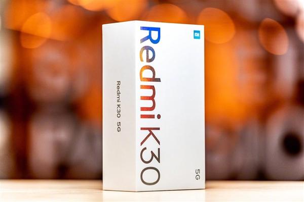 """小米CEO雷军晒Redmi K30 5G包装盒 自夸""""好漂亮的包装盒"""""""