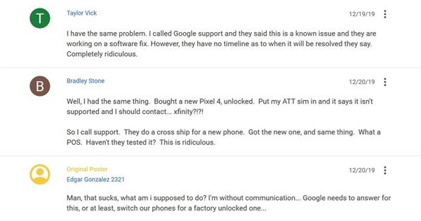 谷歌商店Pixel 4发货频频出错 对品牌带来一定伤害