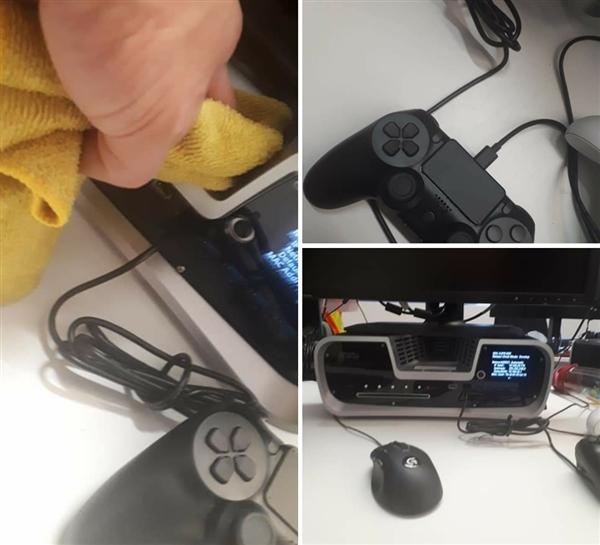 索尼PS5真机照亮相:深V造型独特 十分抢眼
