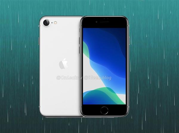 苹果小钢炮来了!iPhone 9全身渲染图曝光:造型和iPhone 8相差无几