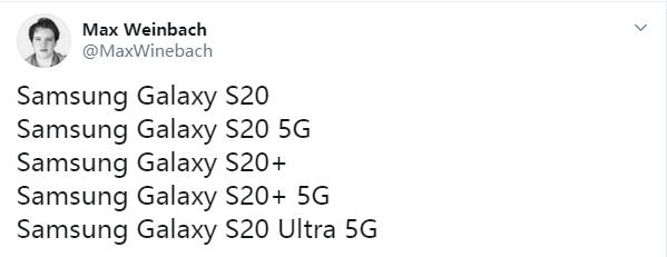 三星Galaxy S20系列即将上线 称售价会有惊喜