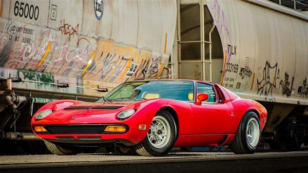 49年车龄的兰博基尼Miura 预估将以成交价964-1100万被拍卖