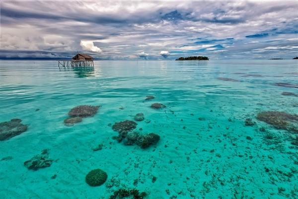 印尼海平面上升导致2座小岛消失 还有4座也有被淹没的危险