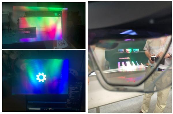 微软极客设备Hololens 2翻车了:佩戴时画面中出现类似花屏的彩虹纹