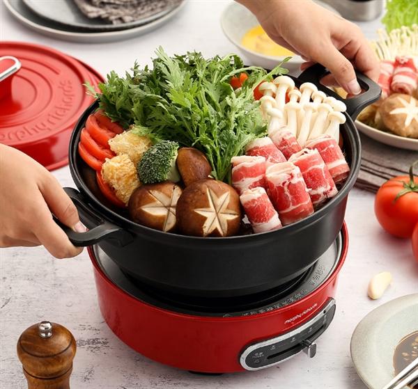 小米有品上新品啦!一款摩飞多功能圆形锅什么都能煮 售价990元