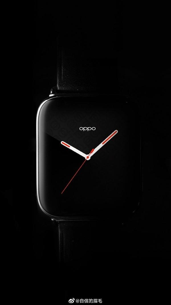 OPPO首款智能手表渲染图曝光:3D曲面柔性屏设计