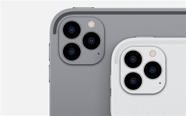苹果新款iPad Pro将在3月份推出:屏幕升级到12寸 后置ToF三摄模组