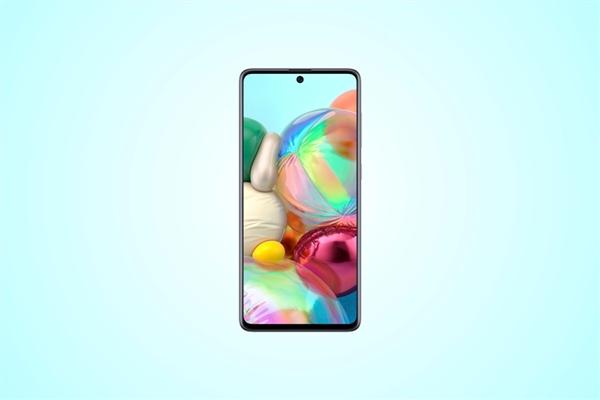 三星A系列全新机型Galaxy A71:6.7英寸FHD屏幕 居中挖孔设计