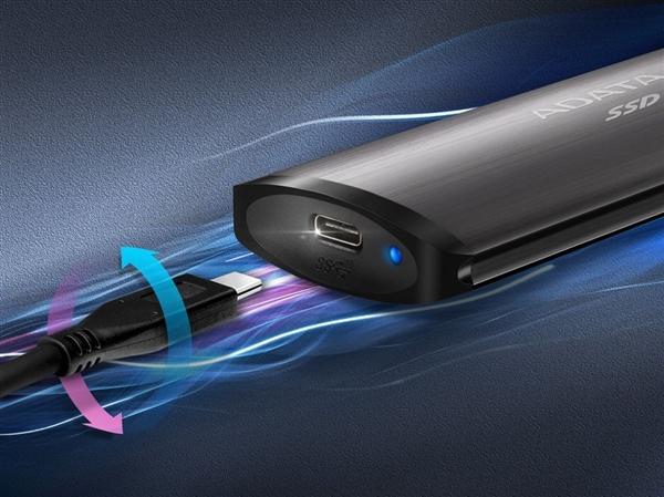 威刚推出SE760移动固态硬盘:单独USB 3.2 Gen2接口