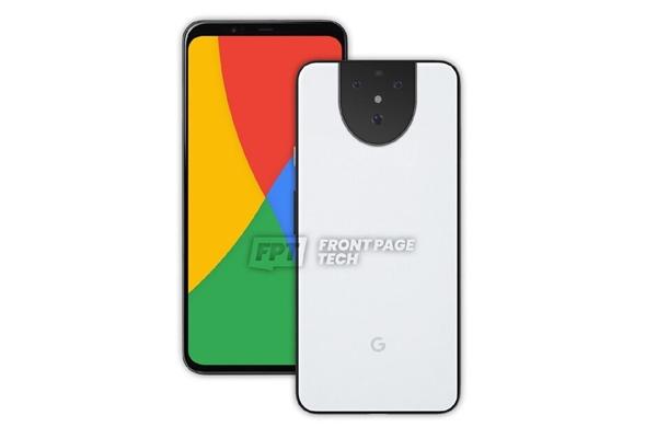 """谷歌Pixel 5 XL渲染图曝光:摄像头造型酷似""""表情包"""""""
