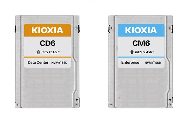 铠侠(东芝存储)首款SSD正式上市:CM6性能最强,功能最全