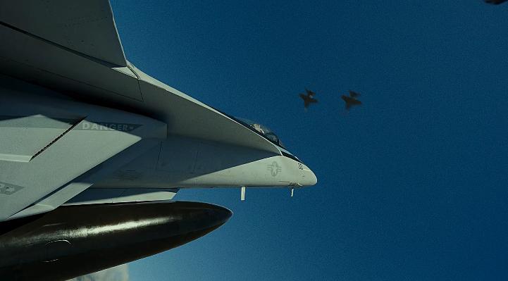 好莱坞热血大片《壮志凌云2》全新预告出炉:战斗机机实景拍摄