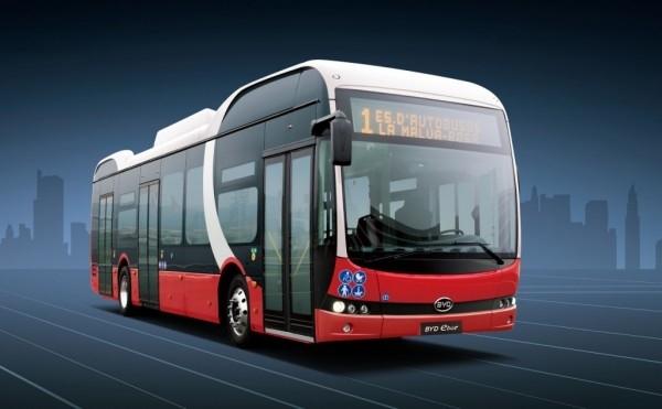 美国采购史上最大纯电动大巴订单:共155台 134台来自比亚迪