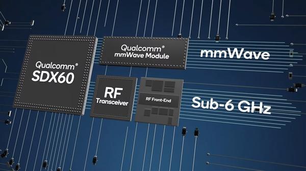 高通即将带来第三代5G基带芯片X60:下载速度可达7.5Gbps