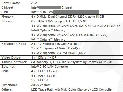 Intel十代酷睿主板规格谜底揭晓:换接口只是为了供电需求
