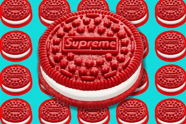 天价限量版红色奥利奥!由Supreme与卡夫联合推出