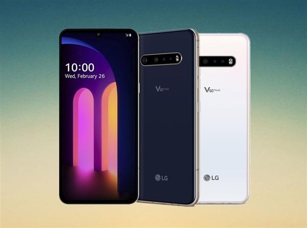 LG新旗舰机V60 ThinQ首销;6.8英寸POLED水滴屏+2.1寸通知副屏