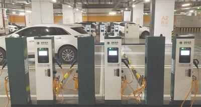 智能电桩上岗 单日可最大提供约1300车次充电服务