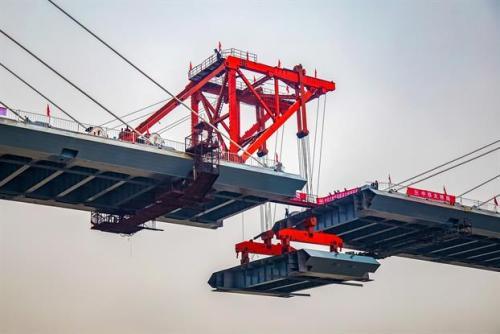 渝怀二线舞水湾滩特大桥合龙 全长625公里