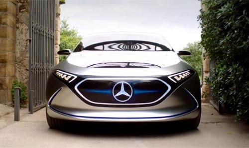 梅赛德斯-奔驰EQA电动汽车原型车目前已被目睹上路测试