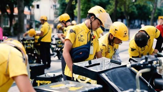 数据显示今年前六月兼职外卖员增多 网约配送行业将释放出大量的就业岗位