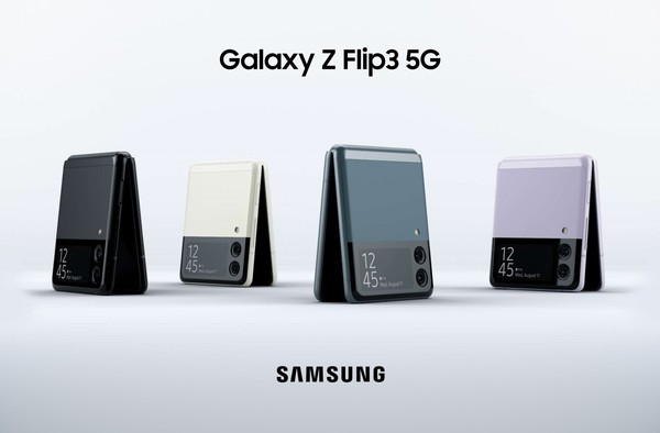 """上下折叠!三星Galaxy Z Flip3""""官方""""渲染图曝光"""